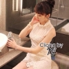 Cliona made, Andria Sassy Lace Mini Dress
