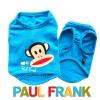 (สินค้าหมดรุ่น) เสื้อกล้ามสุนัข Paul Frank สีฟ้า รุ่น 7 สี 7 วัน พร้อมส่ง