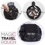 MAGIC TRAVEL POUCH กระเป๋าจัดเก็บ เครื่องสำอางค์ อุปกรณ์แต่งหน้า ใส่ของได้หลากหลาย ใบใหญ่ จุได้เยอะ ไว้พกพาเดินทาง