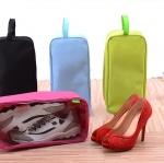 กระเป๋าใส่รองเท้ากีฬา รองเท้าแตะ รองเท้าคัทชู ไว้พกพาสำหรับเดินทาง (มี 2 ขนาด M, L)