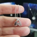 จี้+สร้อยเพชร Dancing Diamond หมายเลข P14 เพชรเม็ดกลาง 15 ตัง เพชรน.นรวม 19 ตัง 🌺ราคาเพียง 17,500 บาทนะคะ🌺 🎉🎉สนใจทัก https://line.me/R/ti/p/%40passiongems🎉🎉