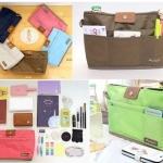 Bags in Bag กระเป๋าจัดระเบียบ อเนกประสงค์ ใส่ของใช้ต่างๆ ให้เป็นระเบียบ เรียบร้อย