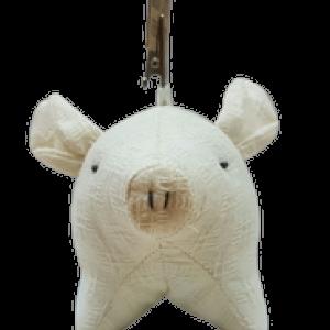 Let's be friends. (Flop) Piggy