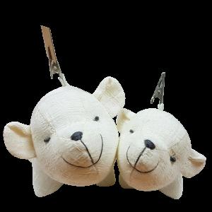 Let's be friends. (Flop) Little Polar Bear