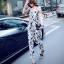 Cliona made' Cisie Floral Print Line Jumpsuit thumbnail 6
