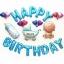 ชุดฟอยล์ลูกโป่งงานวันเกิด (แถมที่สูบ) สีฟ้า thumbnail 1