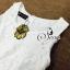 (ส่งฟรี EMS) Sevy Solid Off White Lace Maxi Dress With Velvet Ribbon thumbnail 7