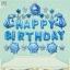 BIRTHDAY PARTY ( F1) ลูกโป่งพร้อมป้ายจัดปาร์ตี้วันเกิดรูป Frozen ลายลิขสิทธิ์ สีสันสดใส thumbnail 1