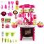 โต๊ะครัว mini kitchecn + shopping cart 2 in 1 อุปกรณ์ 56 ชิ้น ส่งฟรี สีชมพู thumbnail 2