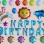 """ลูกโป่ง""""HAPPY BIRTHDAY"""" ฟอยล์ตัวอักษร แฟนซี thumbnail 1"""