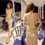 Lady Ribbon's Made Lady Kimberley Sassy Naughty Cut-Out Maxi Dress thumbnail 3