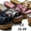 รองเท้าส้นเตารีดแฟชั่น ไซส์ 36-40 thumbnail 1