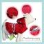 PRE เสื้อผ้าน้องหมา ชุดกระโปรงกำมะหยี่สีแดง thumbnail 1