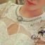 Dolce&Gabbana organza lace embroidered Victorian dress thumbnail 4
