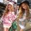3D Rose Luxury Sweater & Mini Skirt Korean Style thumbnail 1