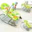 Ibaby เปลสั่นอัตโนมัติ และสามารถไกว เป็นเก้าอี้นั่งได้ (สีเขียว) ลายยีราฟ thumbnail 1