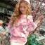 3D Rose Luxury Sweater & Mini Skirt Korean Style thumbnail 2