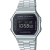 Casio STANDARD DIGITAL Vintage A168 Mirror Face series รุ่น A168WEM-1