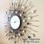 นาฬิกาแขวนติดผนัง รุ่นรัศมีพลอยใหญ่ขาวดำ T-meid thumbnail 3