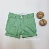 กางเกงสามส่วนเด็ก สีเขียวอ่อน (S M L)