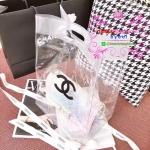 Chanel transparent pvc shopping bag