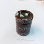 C4700UF105c50VDCราคาตัวล่ะขนาดเส้นผ่านศูนย์กลางอ้วน25มมสูง35มม.(25x35MM)2ขาเขี้ยวICยี่ห้อNIPPON