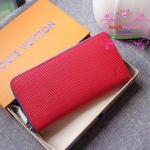 LV EPI zippy wallet new collection สีแดง งานHiend Original