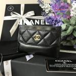 Chanel card holder สีดำ งานHiend Original