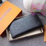 LV EPI zippy wallet new collection สีดำ งานHiend Original