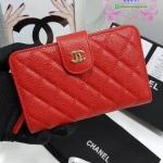 Chanel wallet สีแดง งานHiend Original