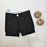กางเกงสามส่วนเด็ก สีดำ (S M L)