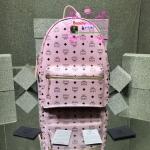 MCM Backpack สีชมพูอ่อน งานHiend Original
