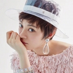 หมวกChanel Transparent pvc New collection งานดีสุด งานHiend Original