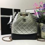 Chanel Gabrielle Backpack สีเงิน งานHiend Original
