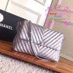 Chanel bag สีเงิน งาน Hiend Original