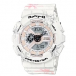 Casio Baby-G Special Color Summer Flower Pattern Serise รุ่น BA-110CF-7A