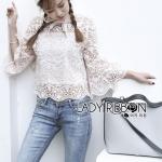 Lady bella Modern Vintage Lace Blouse
