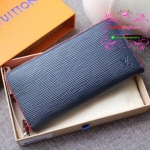 LV EPI zippy wallet new collection สีน้ำเงินกรม งานHiend Original