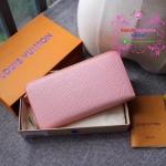 LV EPI zippy wallet new collection สีชมพอ่อน งานHiend Original