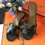 รองเท้าHermes สีดำ งานHiend 1:1