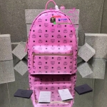 MCM Backpack สีชมพู งานHiend Original