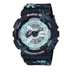 Casio Baby-G Special Color Summer Flower Pattern Serise รุ่น BA-110CF-1A