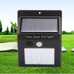 ไฟติดผนังโซล่าเซลล์พลังงานแสงอาทิตย์ 20 led Solar motion sensor light