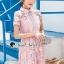 Pink Daisy Lace Dress thumbnail 2