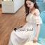 Seoul Secret Say's... Girly Bow Cami Tie Maxi Dress thumbnail 4