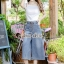 Chic Line Belt Collar Gean Set thumbnail 2