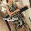 Seoul Secret Say's .... Goldly Flora Lace Blacky Net Maxi Dress thumbnail 3