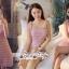 Short Sleeves Diamond Straps Fabric Dress Grab A Layer thumbnail 8