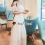 Seoul Secret Say's... Girly Bow Cami Tie Maxi Dress thumbnail 5