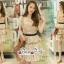 Mini Dress Ladies Flower Embroidery Korea Style thumbnail 3